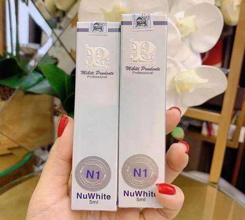 NuWhite N1 Mibiti Prudente Professional được các chị em tin dùng