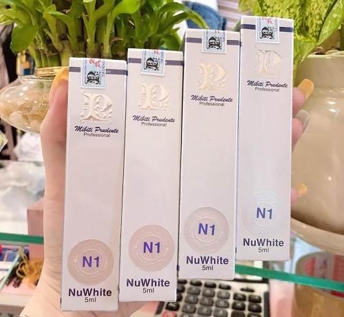 NuWhite N1 Mibiti Prudente Professional giảm thâm làm hồng nhũ hoa