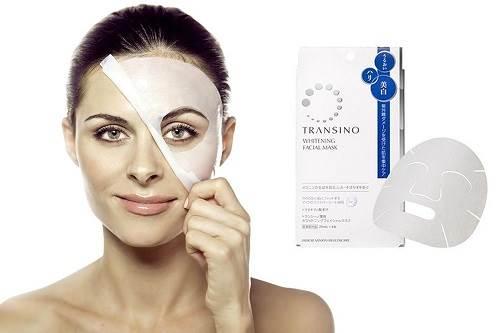 Mặt nạ trắng da Transino whitening Facial Mask
