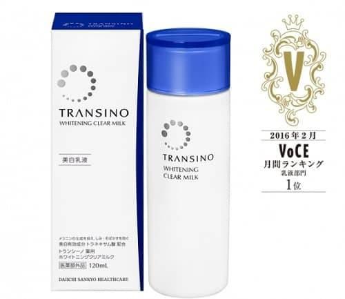 Sữa dưỡng da Transino Whitening Clear Milk có tốt không