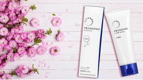 Review sữa rửa mặt Transino Clear Wash