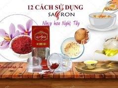 12 cách sử dụng nhụy hoa nghệ tây saffron
