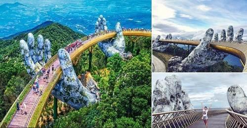 cầu vàng - thành phố du lịch việt nam