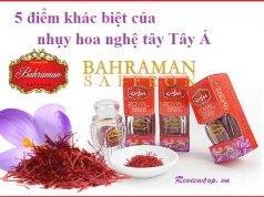 Điểm khác biệt của nhụy hoa nghệ tây Tây Á Saffron Bahraman