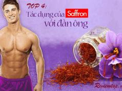 Bất ngờ với 4 lợi ích của saffron đối với sức khỏe nam giới