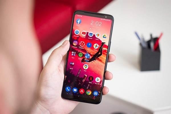Màn hình của máy Rog 3 Phone