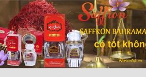 Review nhụy hoa nghệ tây Saffron Bahraman từ người dùng có tốt không?