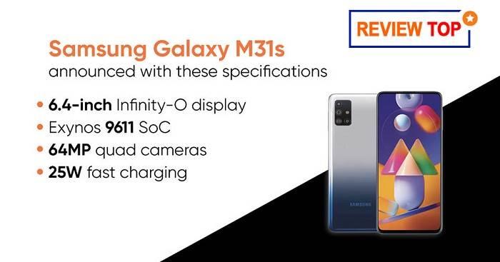 Samsung Galaxy M31s ra mắt
