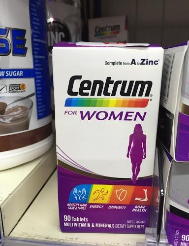 Vitamin tổng hợp cho nữ giới Centrum For Women 90 viên có tốt không?