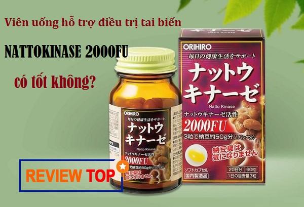 Nattokinase 2000FU Orihiro review từ người dùng có tốt không?
