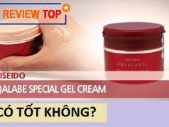 Review Shiseido Aqualabel Special Gel Cream màu đỏ có tốt không