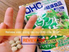 Review viên uống DHC rau củ của Nhật có tốt không Amazon, Webtretho