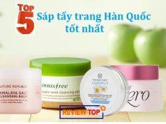 Top 5 sáp tẩy trang Hàn Quốc tốt nhất và được ưa chuộng nhất