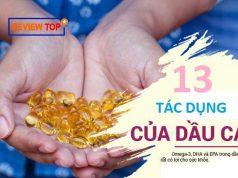 13 Tác dụng của dầu cá đối với sức khỏe và làn da