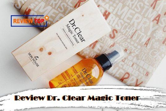 Review nước hoa hồng Dr. Clear Magic Toner The Skin House